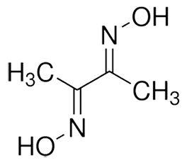 dimethyl-glyoxime-structure